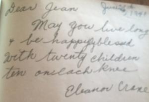 Eleanor Crane